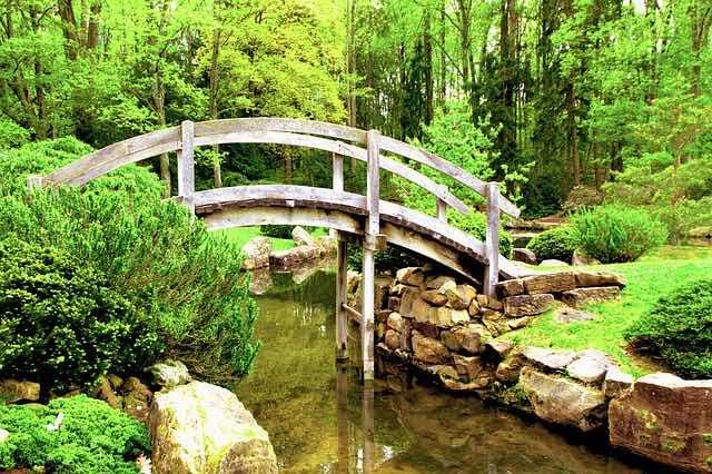 Un jardin zen et reposant