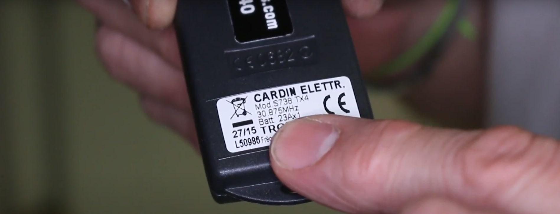 CARDIN S738 TX4